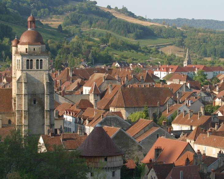 Poligny dans le Jura