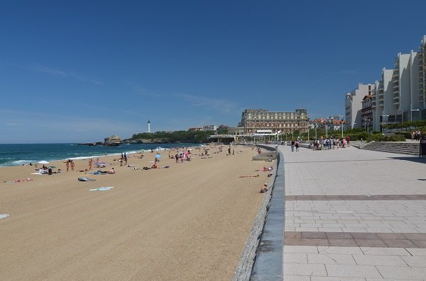 Biarritz : le bord de mer le plus proche de Cambo les Bains