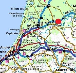 Location cure dax landes location vacances dax 40 dans - Location cure eugenie les bains ...