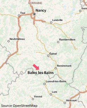 Location de vacances dans la station thermale de bains les - Location cure eugenie les bains ...