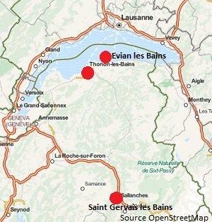 Location cure haute savoie 74 location vacances haute savoie for 74 haute savoie carte