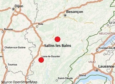 Location cure thermale salins les bains location de - Location cure eugenie les bains ...