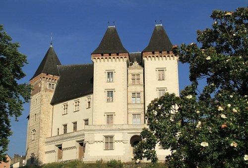 Le château Henry IV à Pau