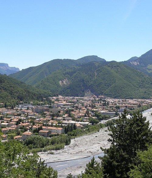 Digne les Bains en Provence