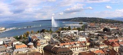 Le lac Léman et Genève