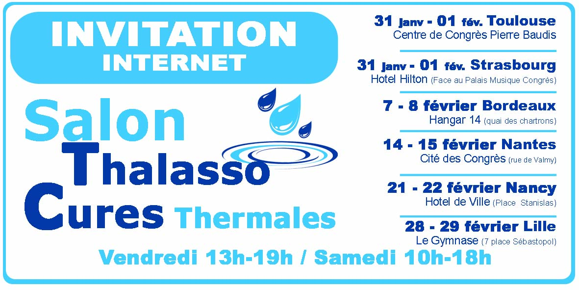 Salons des cures thermales 2020