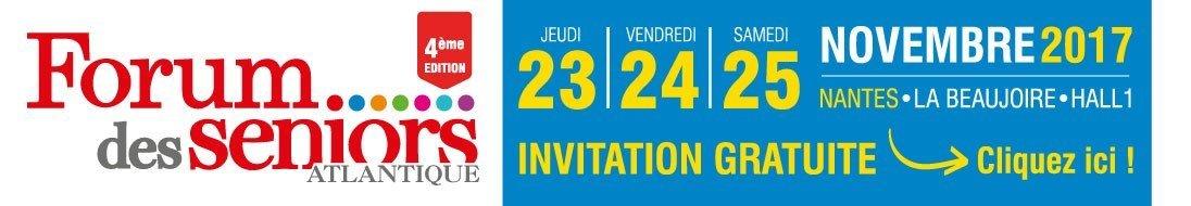 Invitation gratuite pour le salon séniors de Nantes de novembre 2017