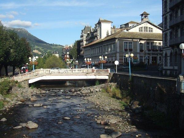 La station thermale de La Bourboule dans le Puy de Dôme