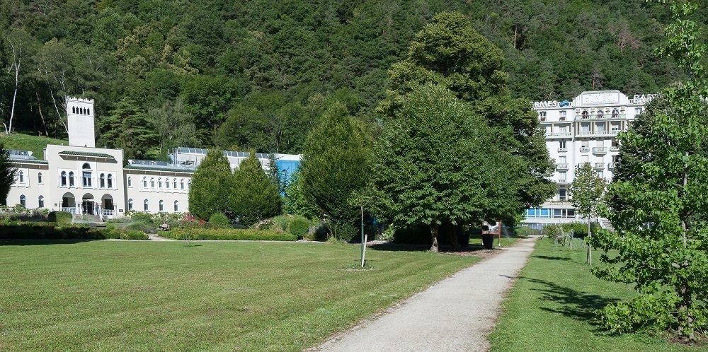 Parc thermal de La Léchère