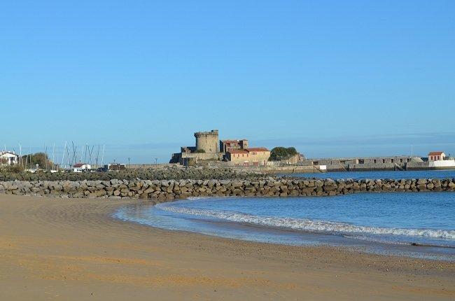 Bord de mer basque - Ciboure une station balnéaire proche de St Jean de Luz