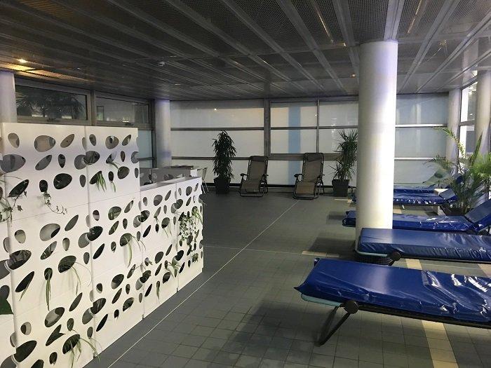 Salle de repos du centre thermal les Thermes à Dax