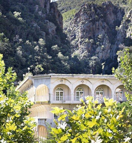 Amélie les Bains, une station thermale à proximité de l'Espagne et de la mer