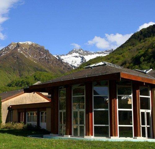 Thermes d'Aulus les Bains dans l'Ariège