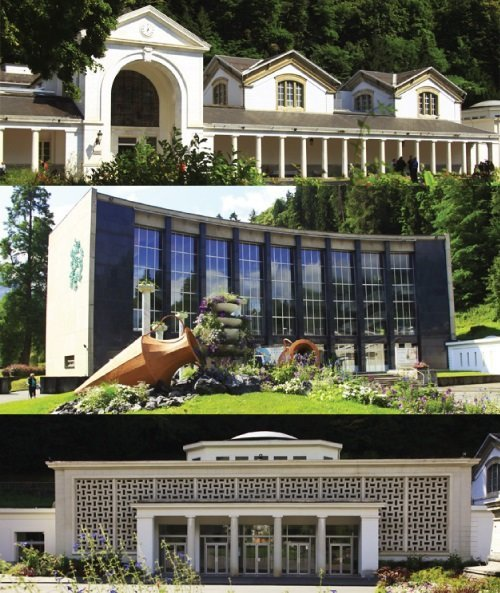La station thermale de luchon en haute garonne location - Bagneres de luchon office de tourisme ...