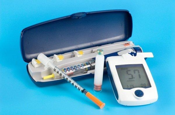 Trousse de soin pour un diabètique