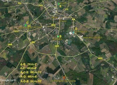Logement pour curiste à Jonzac photo 12 adv1102709